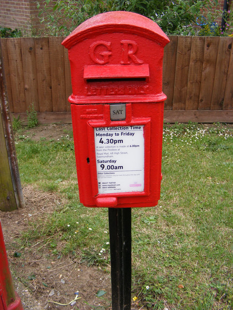 5 Mill Road George V Postbox