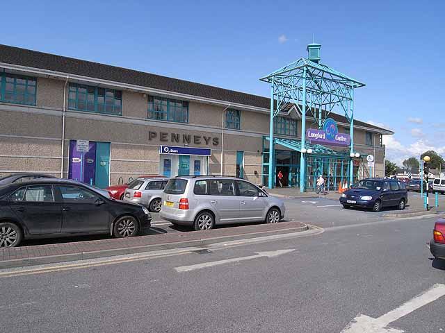 Longford shopping centre