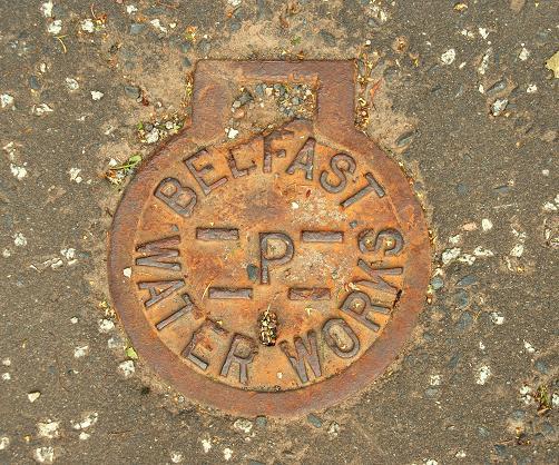 Manhole cover, Belfast