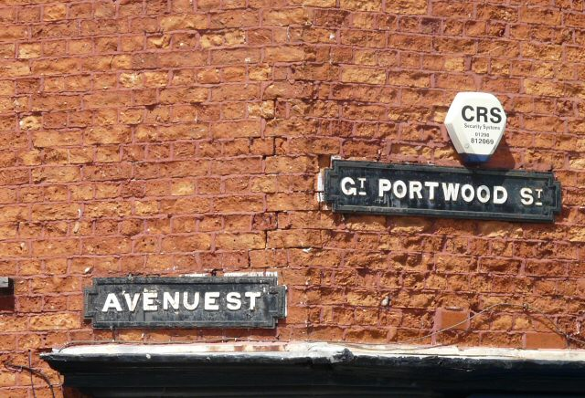 Stockport Street Name Signs
