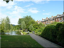 TQ1649 : Meadowbank Recreation Ground, Dorking, Surrey by Peter Trimming