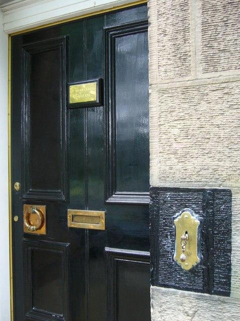 Doorway, Warriston Crescent by kim traynor
