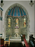 SE1223 : The Parish Church of St Anne in the Grove, Southowram, Interior by Alexander P Kapp