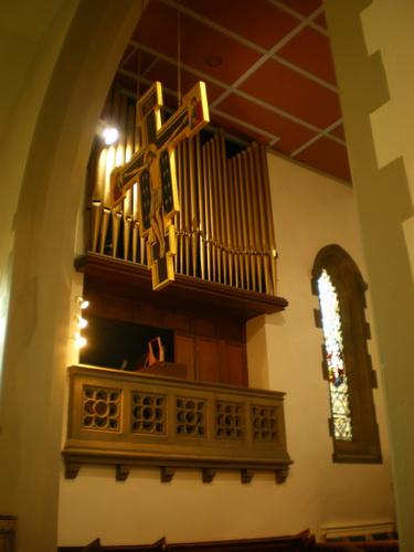 The Parish Church of St Anne in the Grove, Southowram, Organ