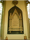 SE1223 : The Parish Church of St Anne in the Grove, Southowram, Memorial by Alexander P Kapp