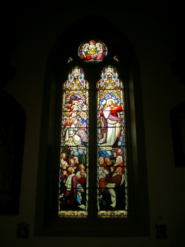 The Parish Church of St Anne in the Grove, Southowram, Stained glass window