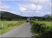 C3644 : Road at Clonmany by Kenneth  Allen