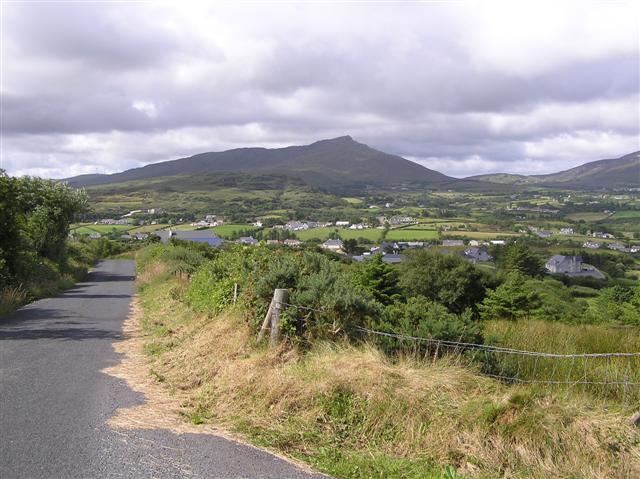 Road at Gortaran by Kenneth  Allen