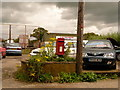 ST7919 : Todber: postbox № DT10 8, Red Lane by Chris Downer