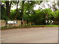 ST8611 : Iwerne Stepleton: postbox № DT11 41 by Chris Downer