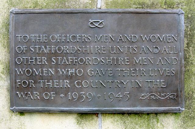 War Memorial, Stafford