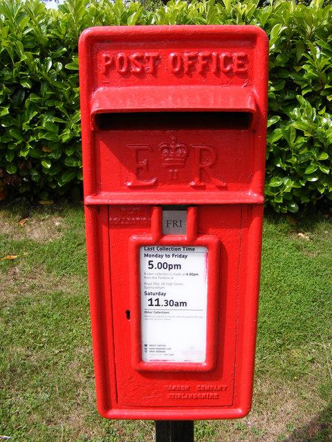 Rendham Postbox