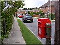 TM3763 : Saxon Road & Saxon Road Postbox by Geographer