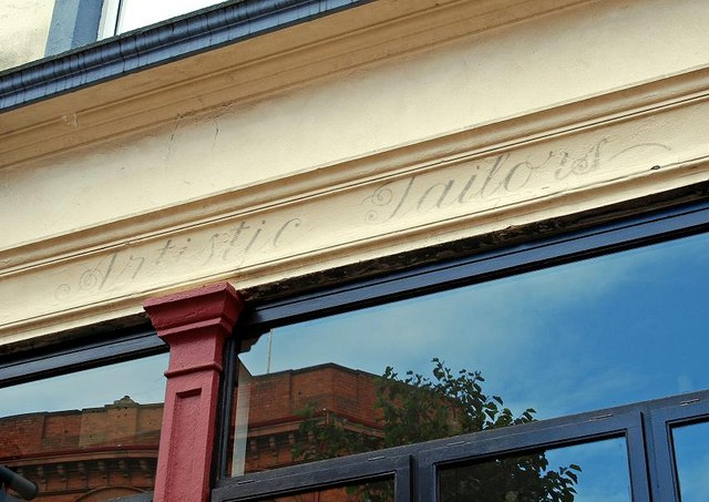 """Artistic Tailors"", Belfast"