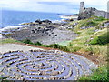NS2515 : Dunure Labyrinth by Andrew Guthrie