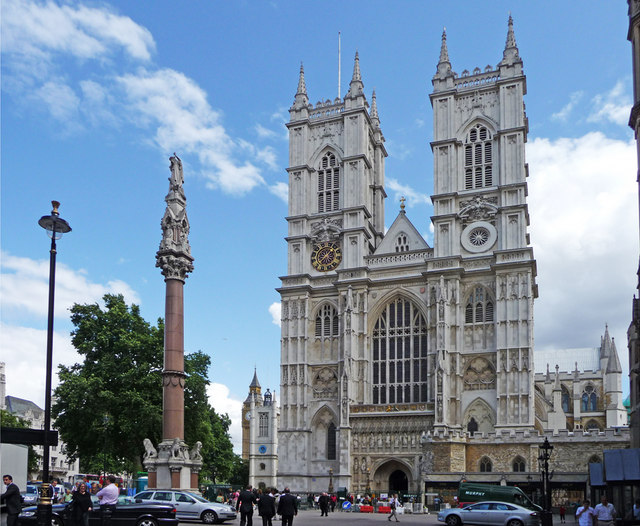 Westminster Abbey and War Memorial, London