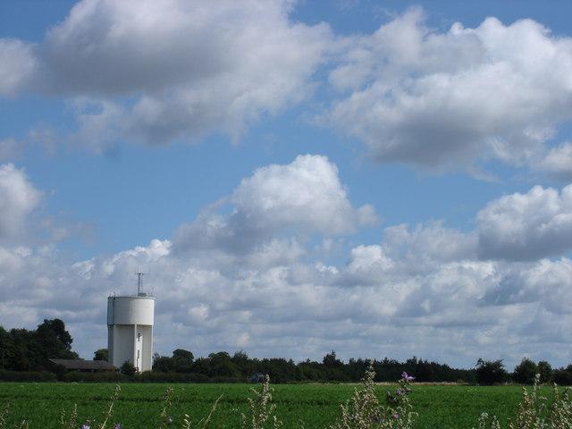 Rendlesham water tower