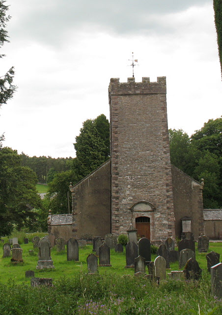 Tower of St Oswald's church, Ravenstonedale