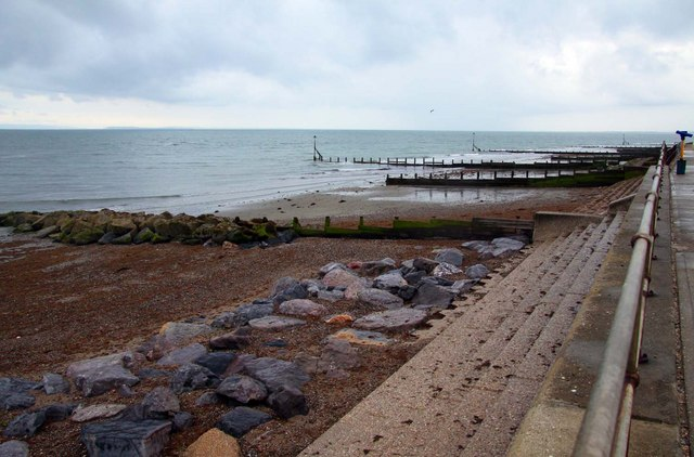 The beach at Selsey Bill