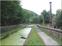 SK3155 : Lea Wood pump house, on Cromford Canal by Roger Cornfoot