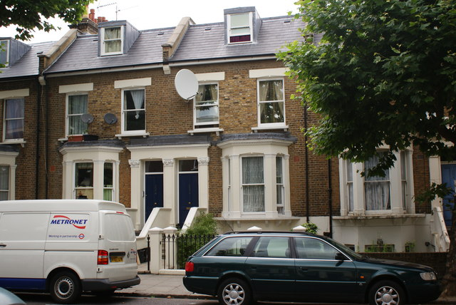 Houses in Shirland Road