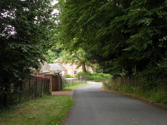 Part of Manor Lane by Robert Edwards