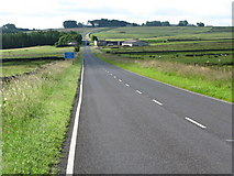 NY8693 : A straight section of the A68 by G Laird