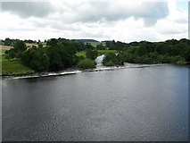 NY9170 : Weir on the River North Tyne by G Laird