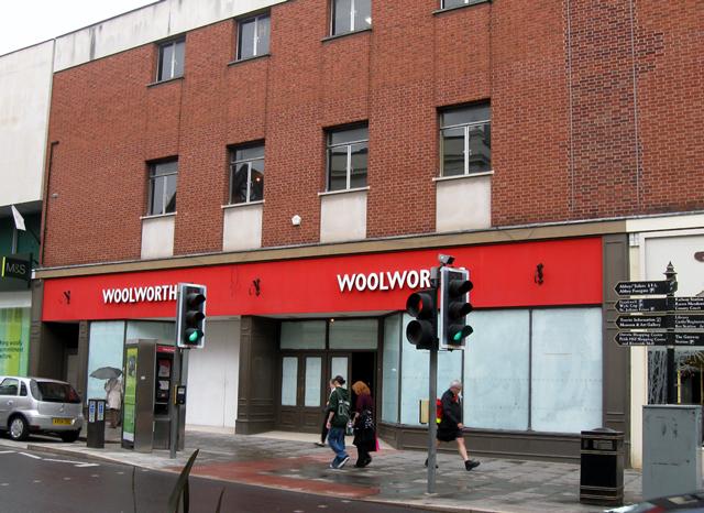Woolworths, Shrewsbury