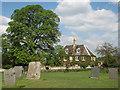 SK8632 : Denton: Leys House from the churchyard by John Sutton