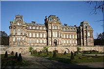 NZ0516 : Bowes Museum - Barnard Castle by Dave Bailey