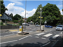 TQ3060 : A very busy road junction by Dr Neil Clifton