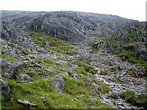 SH6358 : Northern slopes of Glyder Fawr by Roger Cornfoot