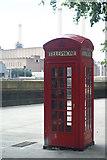 TQ2977 : Telephone Box, Grosvenor Road, London (1) by Peter Trimming