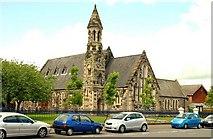 J3475 : St Paul's (CoI) church, Belfast by Albert Bridge