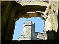 TQ7825 : Turret at Bodiam Castle by PAUL FARMER