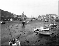 SC2484 : Peel harbour, Isle of Man by Dr Neil Clifton