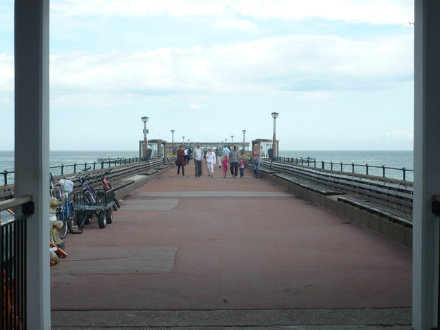 Deal Pier viewed from the entrance