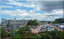 NT1473 : Car parking at Edinburgh Airport by John Allan