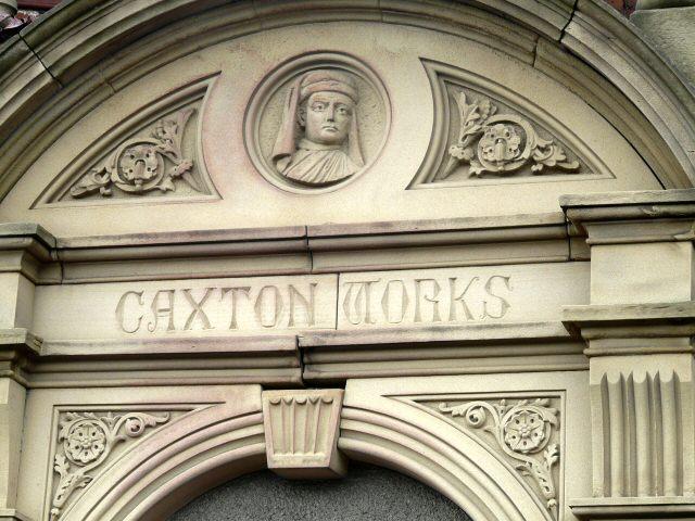 Caxton Works Doorway Detail