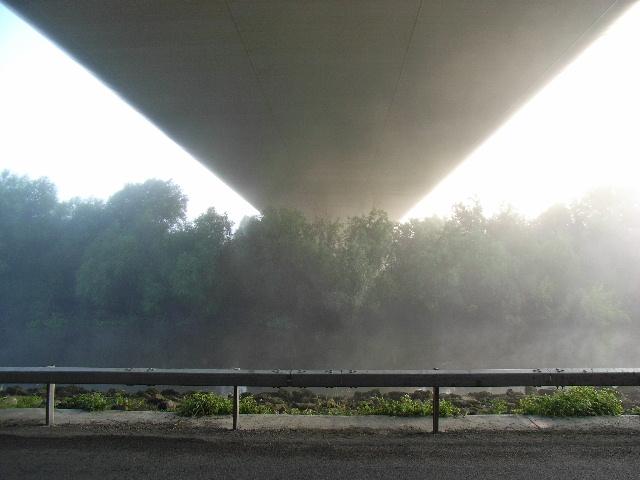 M1 Boyne Bridge from underneath