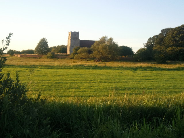 Aughton All Saints Church at Sunset