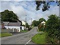 SN0905 : Lane Through East Williamston by Peter Whatley
