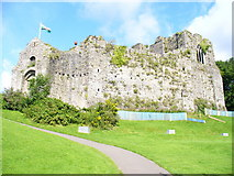 SS6188 : Oystermouth Castle by Colin Smith