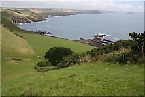 SX5746 : The View From The Top of Beacon Hill by Tony Atkin