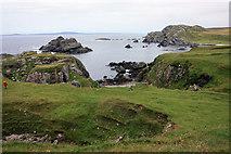 NR2743 : Coastline at Lower Killeyan by Peter Church