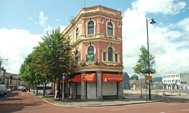 Former gas showroom, Belfast