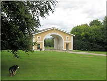 TQ1352 : The North Lodge, Polesden Lacey by Chris Reynolds