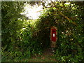 SY7581 : Ringstead: postbox № DT2 155 by Chris Downer