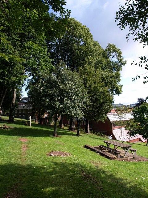 Torbay Hospital grounds